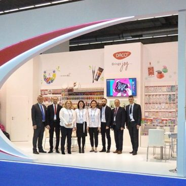 Paperworld 2020 exhibition stand Adaconi