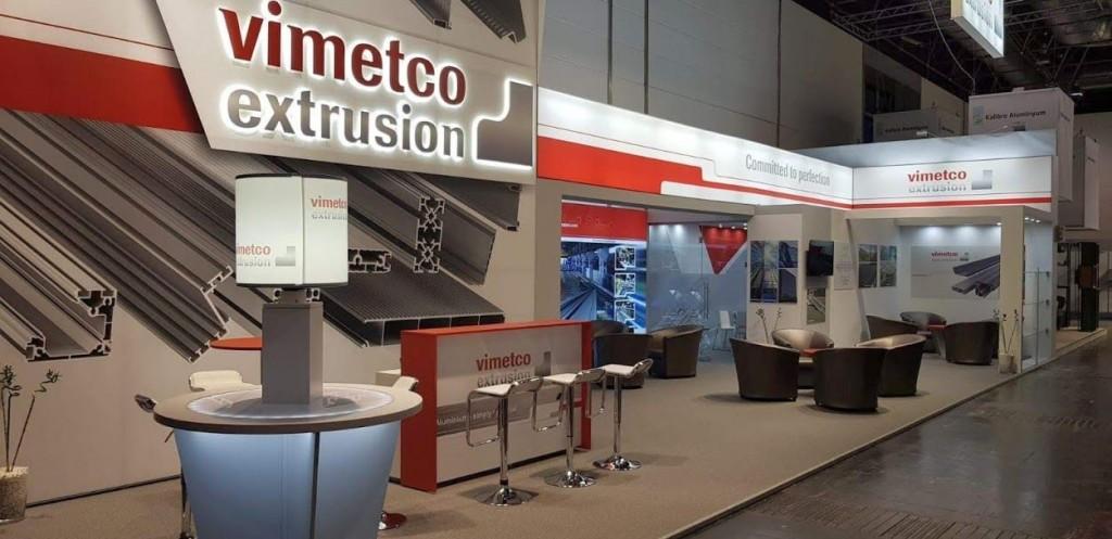 Vimetco Extrusion stand Aluminium 2018 Dusseldorf