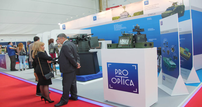 Black Sea Defense & Aerospace (BSDA) 2018 standuri expozitionale persnonalizate